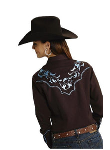 Roper Filagree Embroidery With Saddle Stitch
