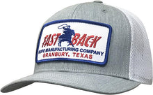 Load image into Gallery viewer, Fastback Grey Mesh Back Patch Ball Cap
