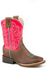 "Roper Girls Square Toe Boots  ""Nellie"""
