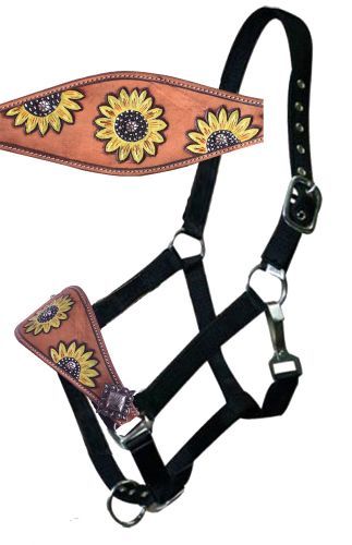 Sunflower Bronc Halter