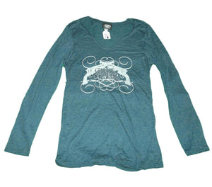 Blue Long Sleeve Genuine Cowgirl Shirt