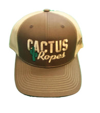 Load image into Gallery viewer, Cactus Ropes Mesh Snap Back Ball Cap