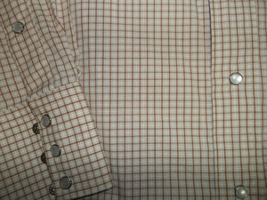 Flying R Red Checkered Western Shirt