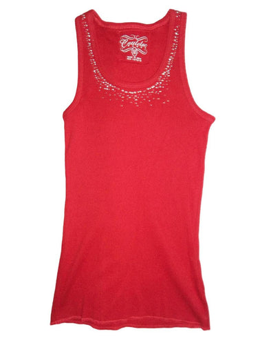 Women's Studed Tank Top