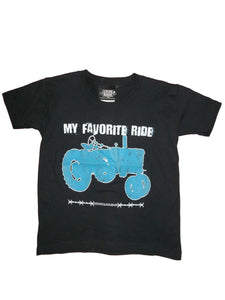 Adults My Favorite Ride T-Shirt Blue