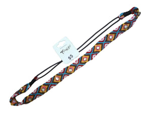 Multicolored Elastic Headband JH0124AQYF