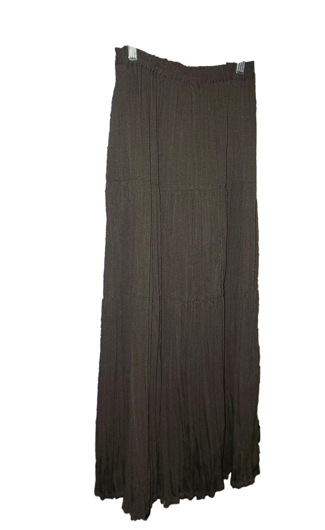 Brown Full Length Skirt