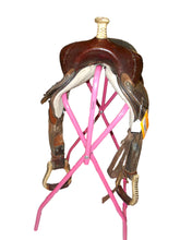 "Load image into Gallery viewer, 15"" Dakota Barrel Saddle-Used"