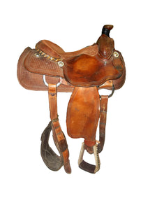 "Billy Cook Classic 15"" Roper Saddle - Used"