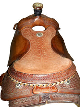 "Load image into Gallery viewer, Billy Cook Classic 15"" Roper Saddle - Used"