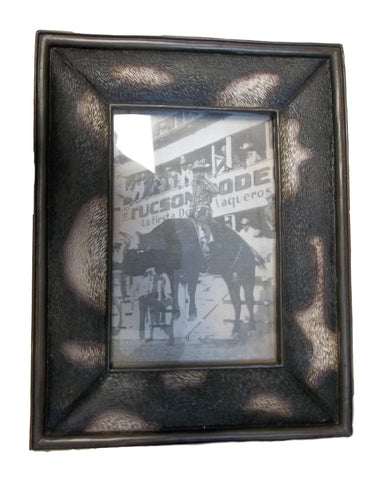 Cowhide Patterned pictured Frame