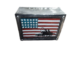 American Flag Cowboy Home decor