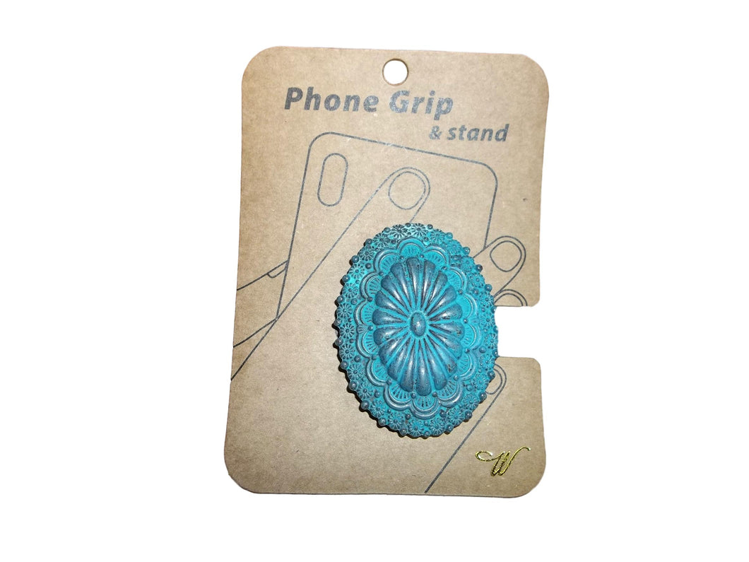 Turquoise Conch Pop Socket