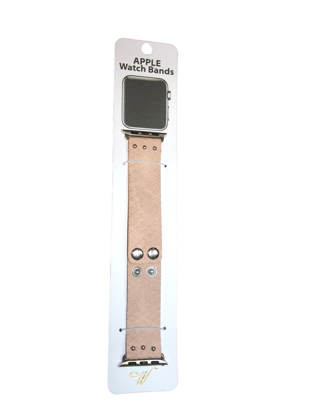 Scalloped Leather Apple Watch Bands