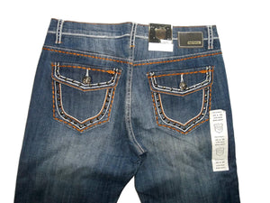 Petrol Clover Jeans