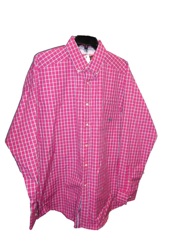 Ariat Pink Plaid Western Shirt