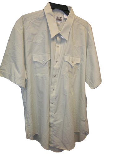 ELY Tan Short Sleeve Snap Shirt