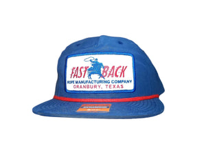 Fastback Navy Rectangle Patch Ball Cap