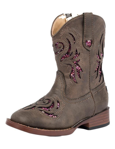 Roper Toddler Glitter Breeze Girls Boots