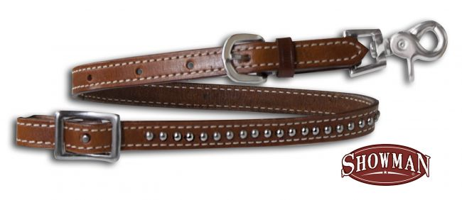 Leather Stud wither strap