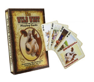 Wild West Playing Cards