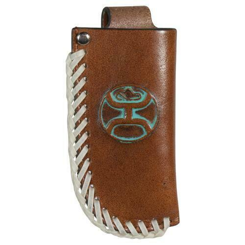 Hooey Signature White & Turquoise Knife Sheath