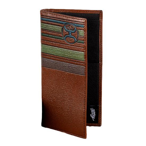 HOOey Horizontal Colored Striped Rodeo Wallet