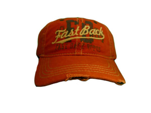 Fast Back Burnt Orange Adjustable Ball Cap