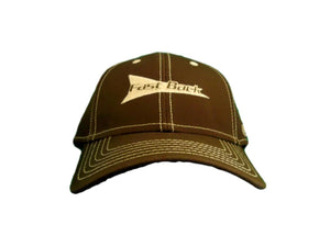Fast Back Brown w/Tan Rocket Adjustable Ball Cap