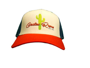 Cactus Ropes Blue and Orange Ball Cap