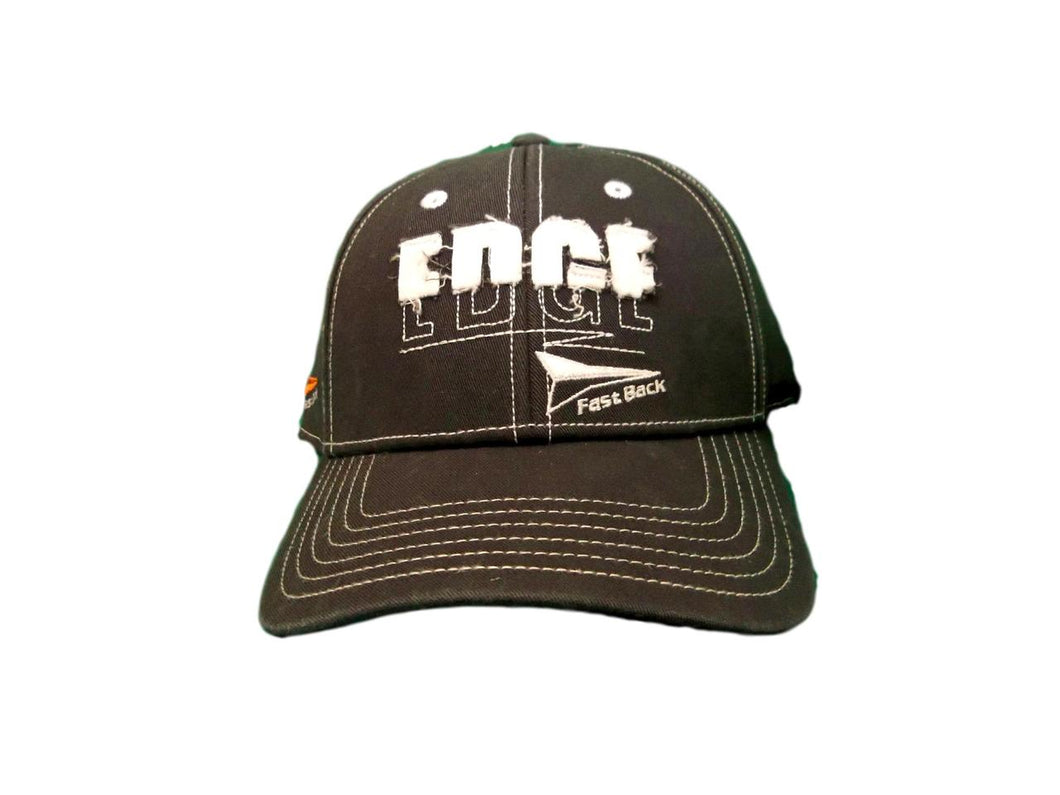 Fast Back Edge Grey Adjustable Ball Cap