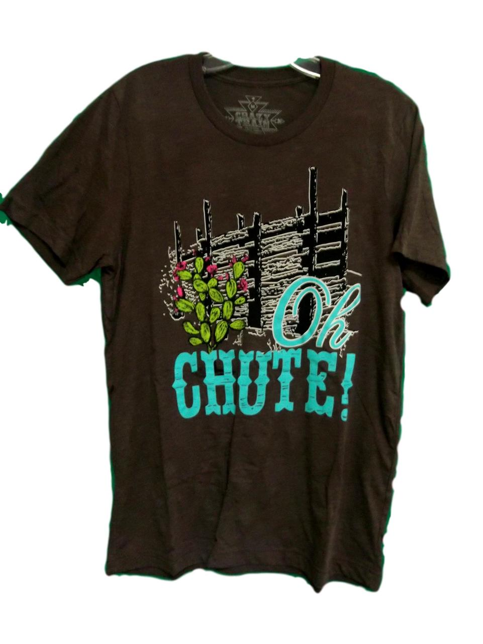 Crazy Train Ladies Oh Chute Tee