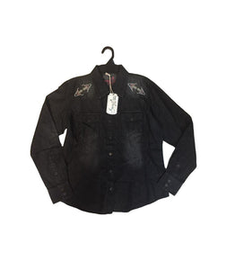 Sherry Cervi Cord Button Up