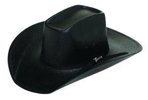 Twister Black Youth Canvas Western Hat - T7159901