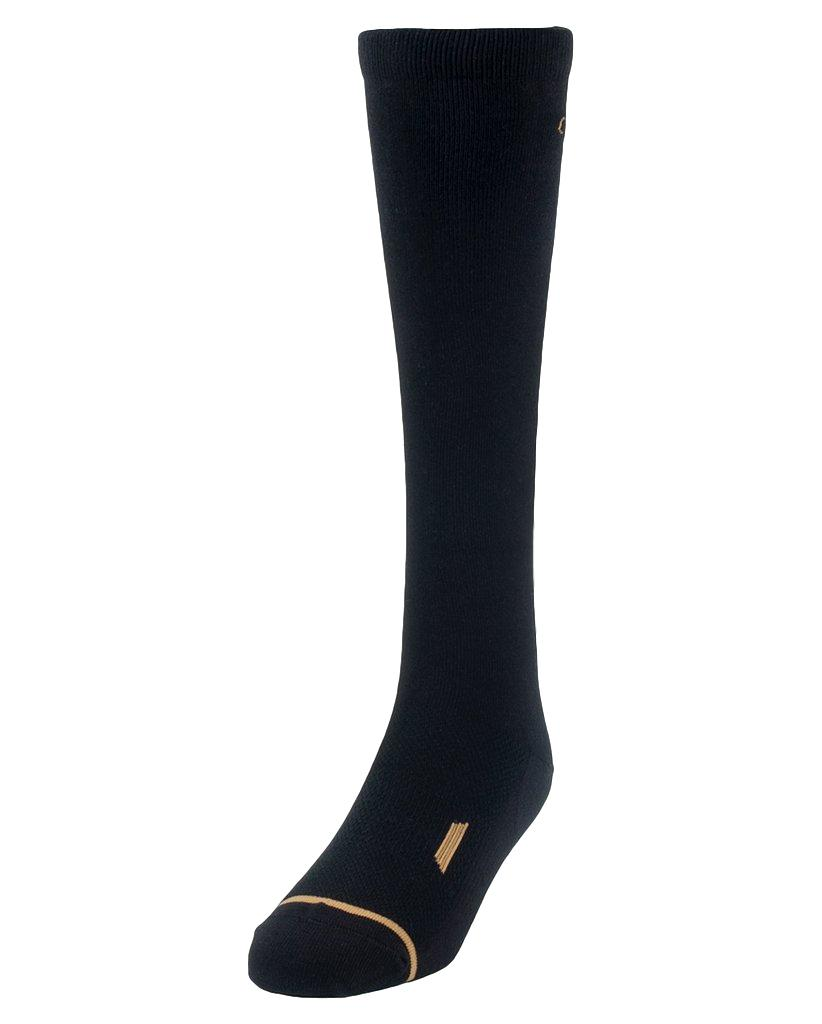 Noble All Around Cotton Black Over The Calf