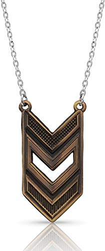 Montana Silversmiths Chevron Necklace