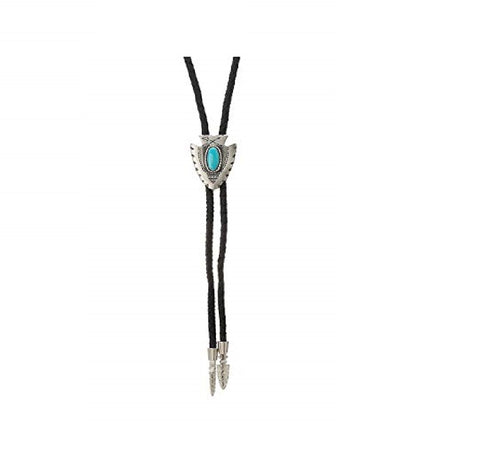 Adult Arrowhead with Turquoise Stone Bolo