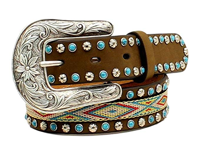 Girls Stitched Inlay Belt