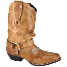 Smoky Mountain Women's Boots With Decorative Leather