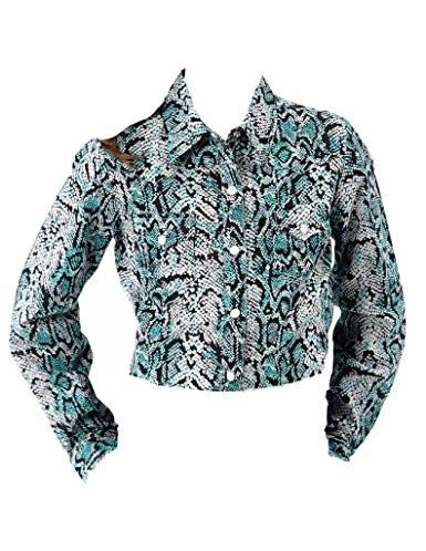 Roper Girls Snake Print Retro Shirt