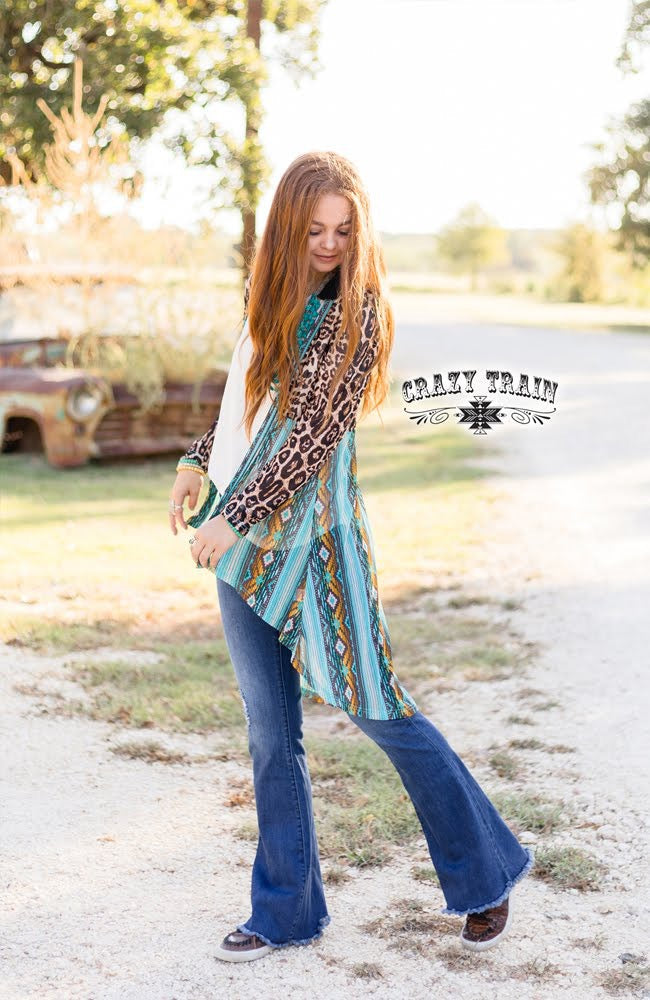 Crazy Train Carizo Creek Cardigan
