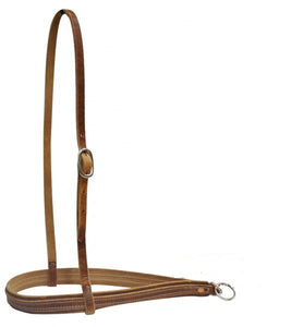 Heavy Leather Tie Down Noseband