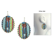 Load image into Gallery viewer, Serape Arrow Earrings
