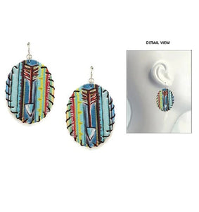 Serape Arrow Earrings