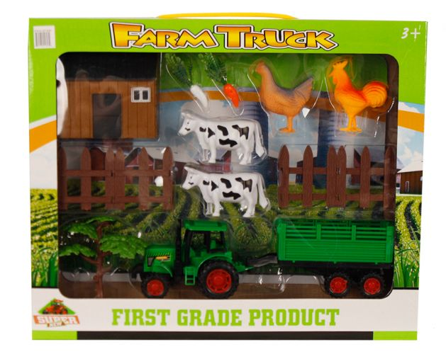 14PC Farm Truck Set