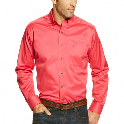 Ariat Pink Men's Western Shirt