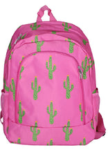 Load image into Gallery viewer, Cactus Print Backpack