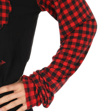 Load image into Gallery viewer, Cowgirl Tuff Buffalo Plaid Patch Shirt