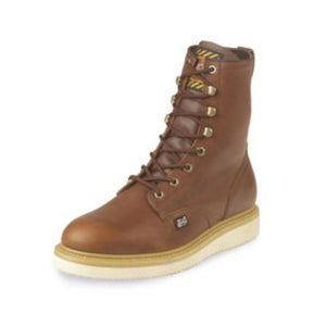 Justin Mens Premium Wedge Lace Work Boots