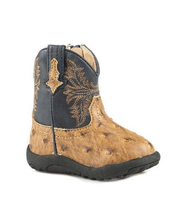 Roper Infant Cowbabies Cowboy Cool Ostrach Boot